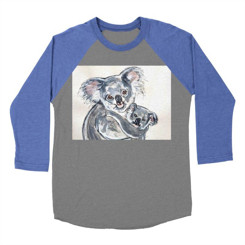 Koala Men's Baseball Triblend Longsleeve T-Shirt by AlmaT's Artist Shop