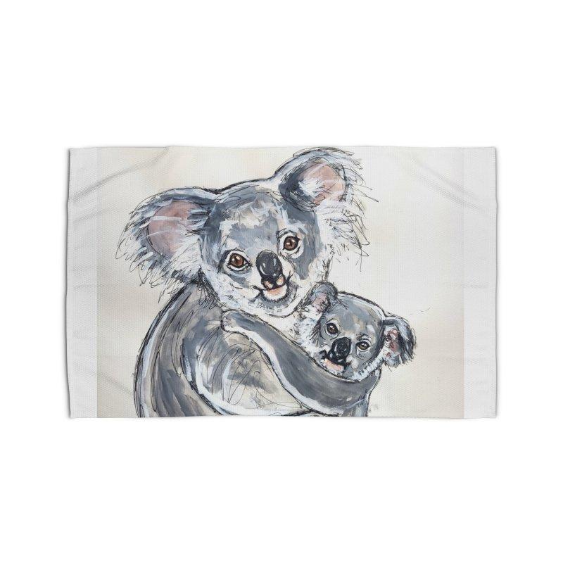 Koala Home Rug by AlmaT's Artist Shop