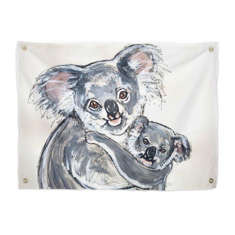 Koala Home Tapestry by AlmaT's Artist Shop
