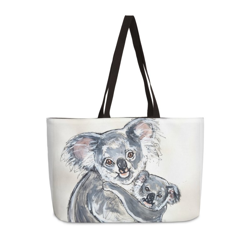 Koala Accessories Weekender Bag Bag by AlmaT's Artist Shop