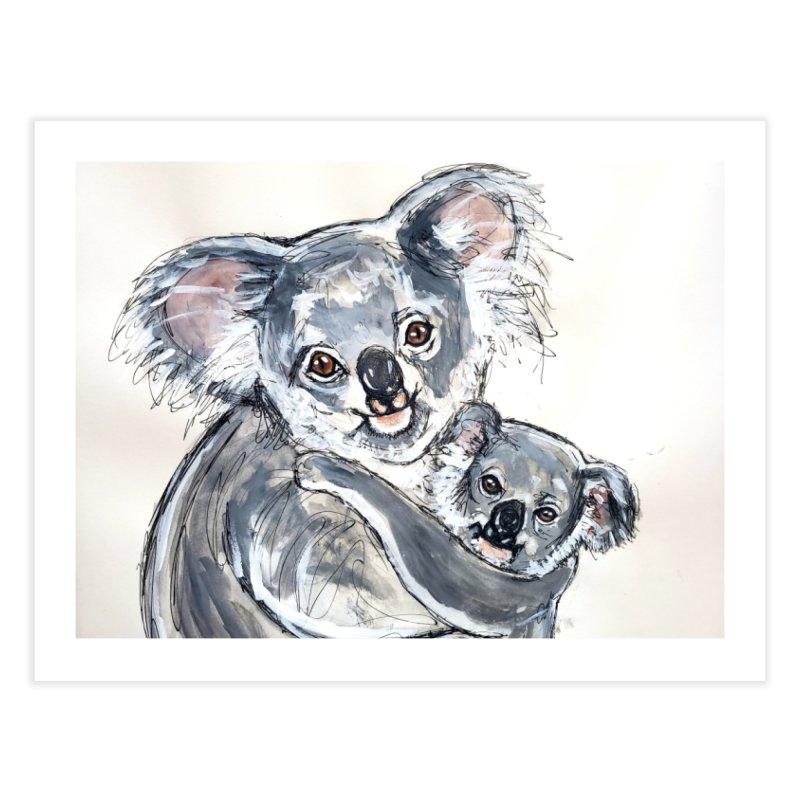 Koala Home Fine Art Print by AlmaT's Artist Shop