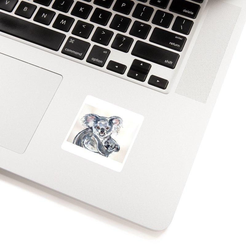 Koala Accessories Sticker by AlmaT's Artist Shop