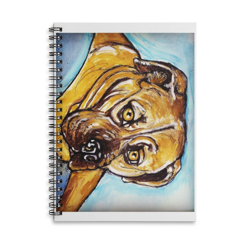 Roxi Accessories Lined Spiral Notebook by AlmaT's Artist Shop