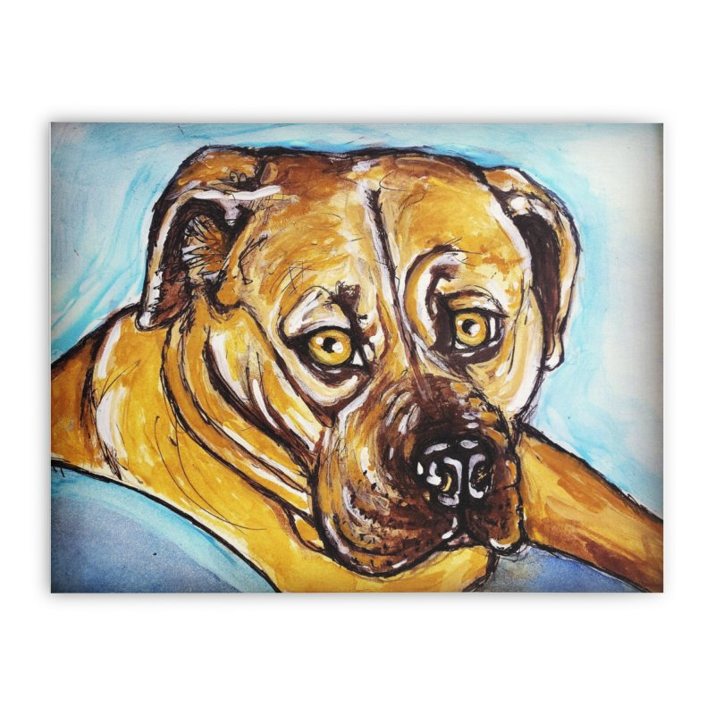Roxi Home Stretched Canvas by AlmaT's Artist Shop