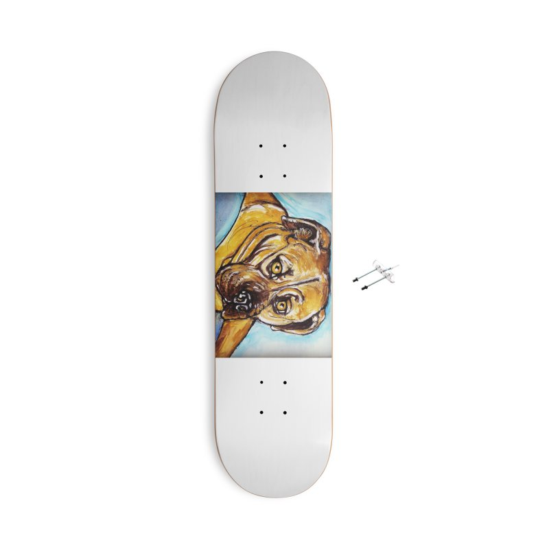 Roxi Accessories With Hanging Hardware Skateboard by AlmaT's Artist Shop