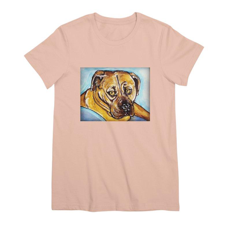 Roxi Women's Premium T-Shirt by AlmaT's Artist Shop