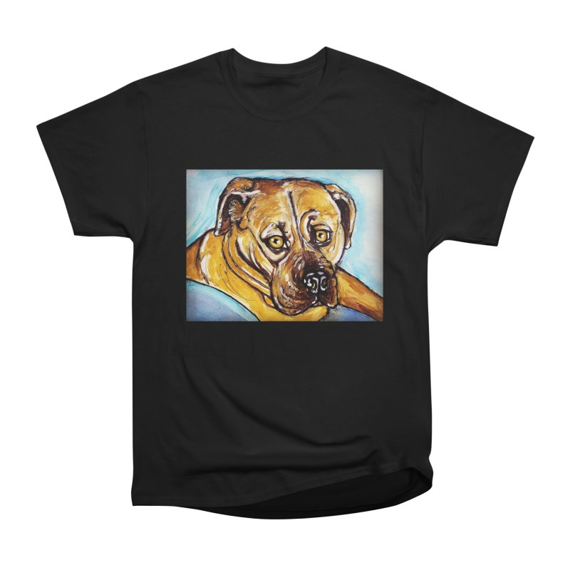 Roxi Women's Heavyweight Unisex T-Shirt by AlmaT's Artist Shop