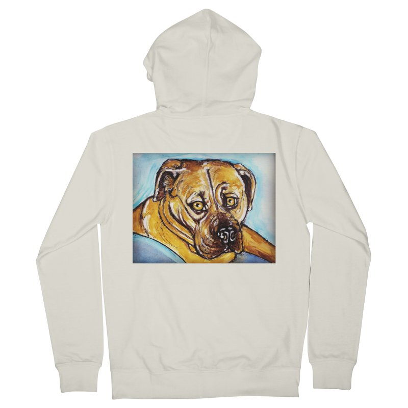Roxi Women's French Terry Zip-Up Hoody by AlmaT's Artist Shop