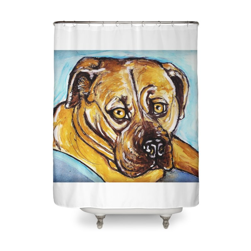 Roxi Home Shower Curtain by AlmaT's Artist Shop