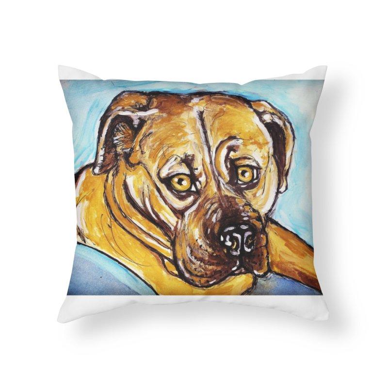 Roxi Home Throw Pillow by AlmaT's Artist Shop