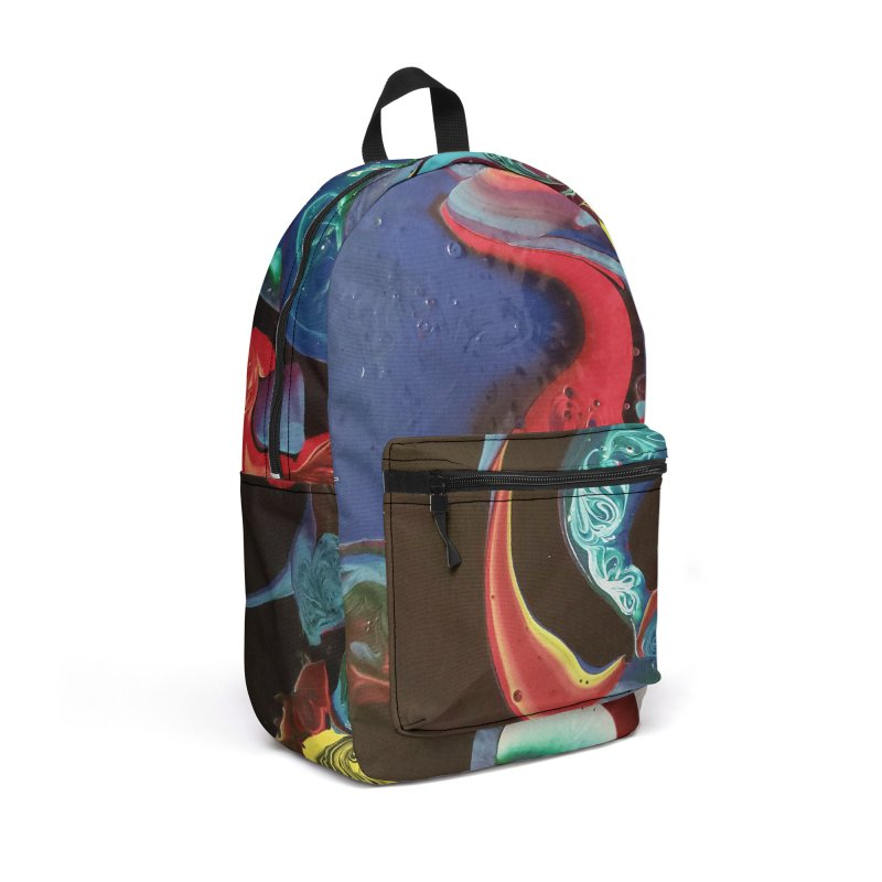 Color Rhapsody Accessories Backpack Bag by AlmaT's Artist Shop