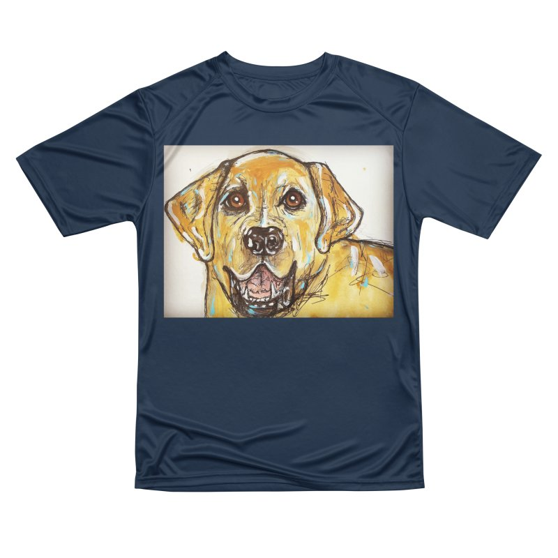 Labrador Retriever Men's Performance T-Shirt by AlmaT's Artist Shop