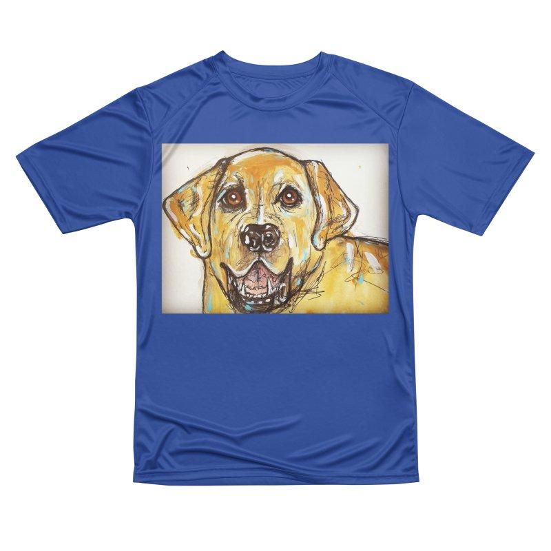 Labrador Retriever Women's Performance Unisex T-Shirt by AlmaT's Artist Shop