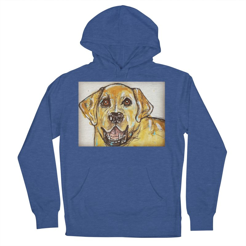 Labrador Retriever Women's French Terry Pullover Hoody by AlmaT's Artist Shop