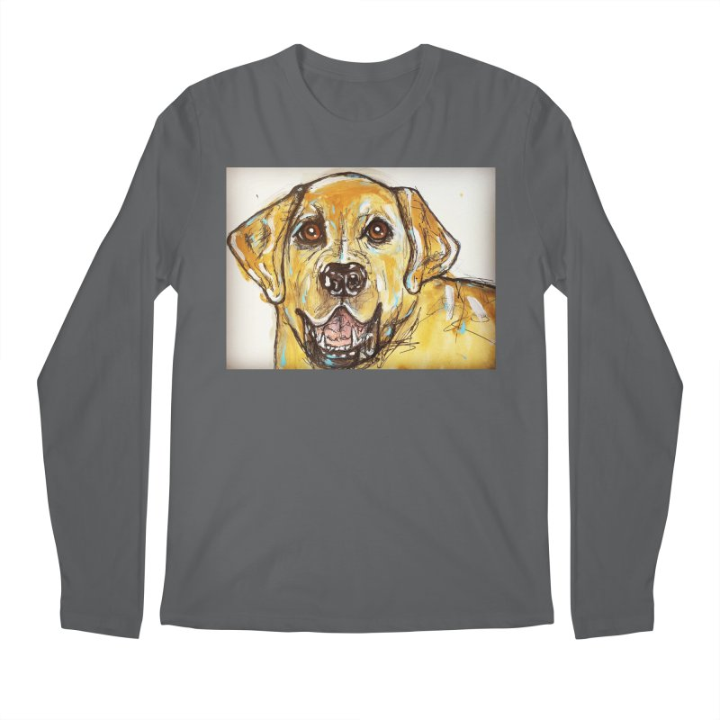 Labrador Retriever Men's Longsleeve T-Shirt by AlmaT's Artist Shop