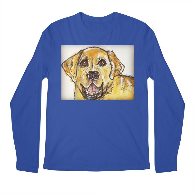 Labrador Retriever Men's Regular Longsleeve T-Shirt by AlmaT's Artist Shop