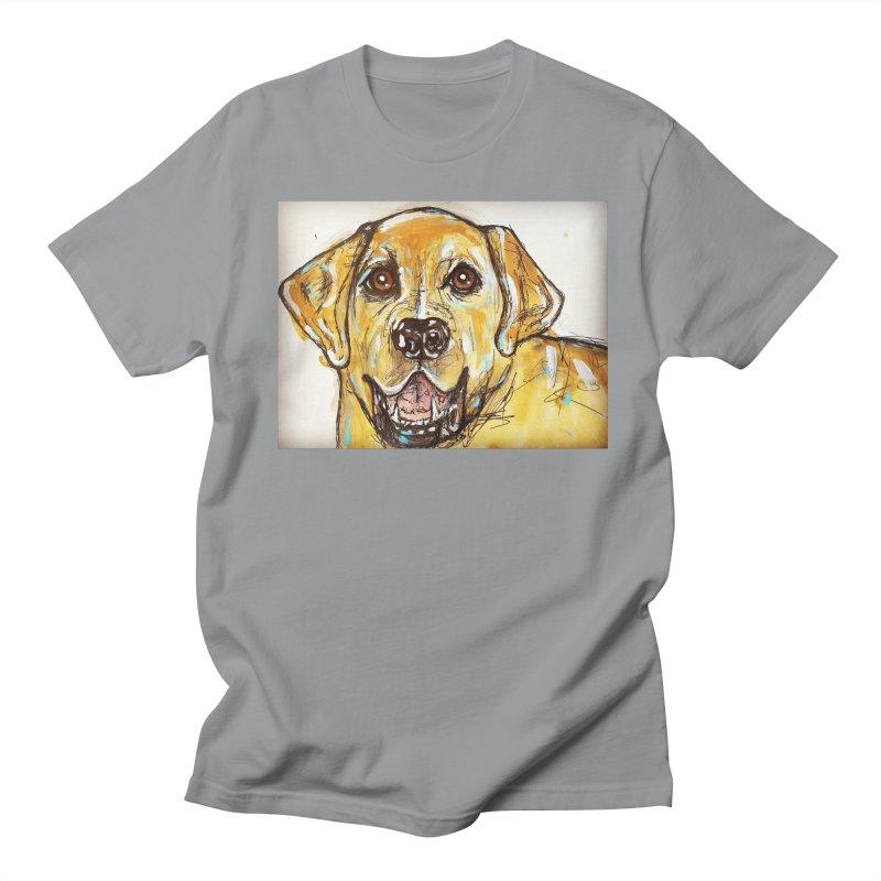 Labrador Retriever Women's Regular Unisex T-Shirt by AlmaT's Artist Shop