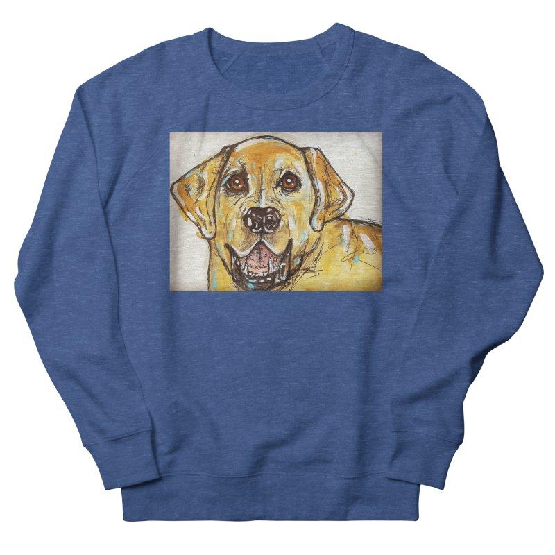 Labrador Retriever Women's French Terry Sweatshirt by AlmaT's Artist Shop