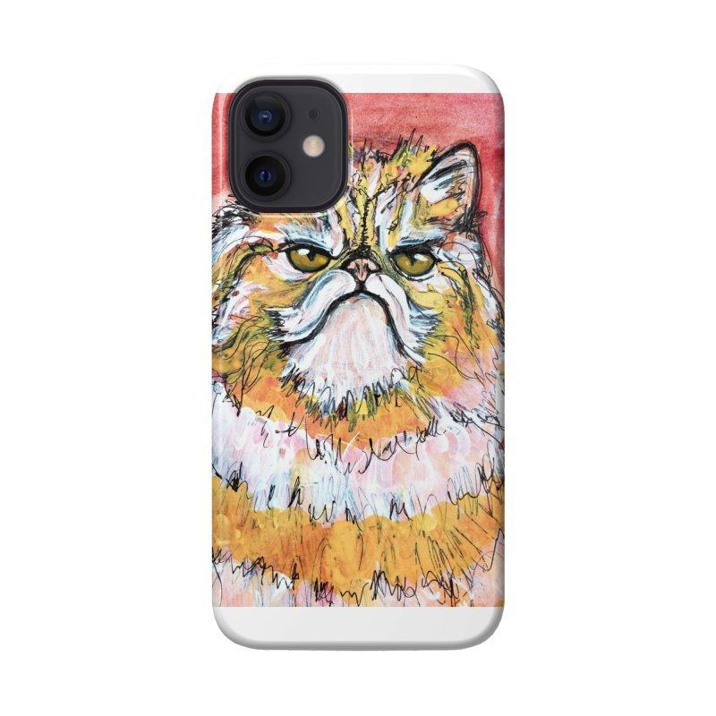Grumpy Cat Accessories Phone Case by AlmaT's Artist Shop