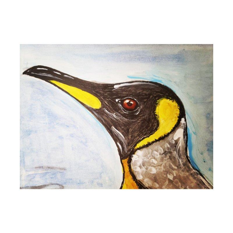 Emperor Penguin Men's Zip-Up Hoody by AlmaT's Artist Shop