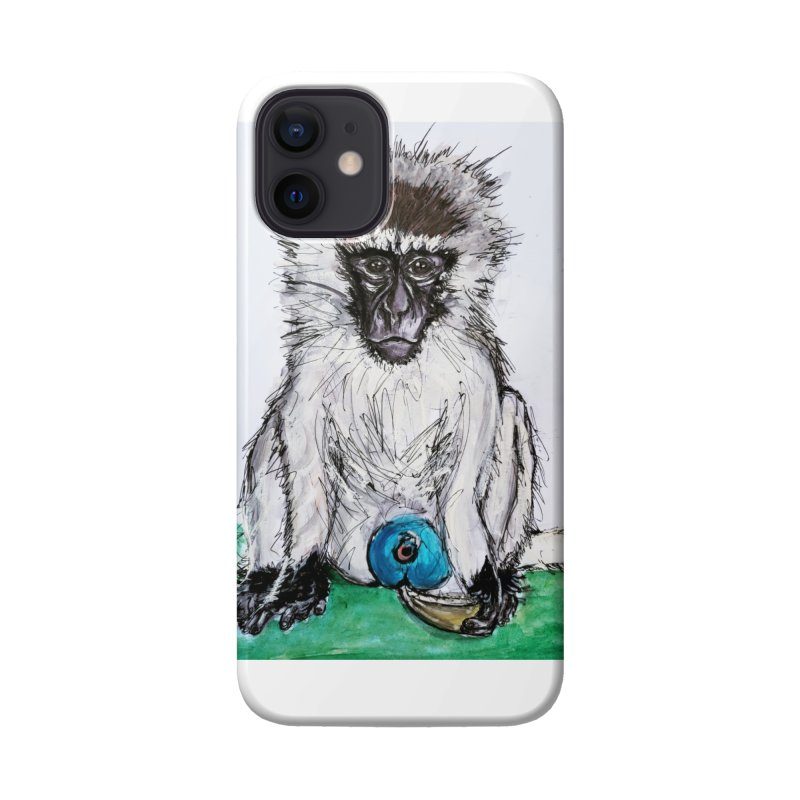 Vervet Monkey Accessories Phone Case by AlmaT's Artist Shop