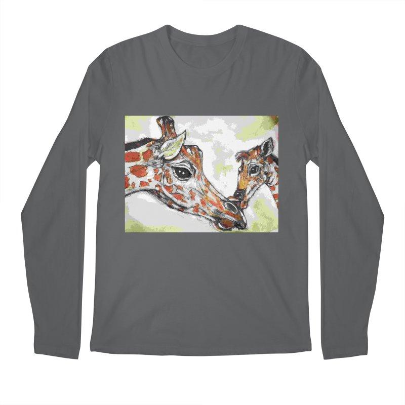 Mothers love Men's Longsleeve T-Shirt by AlmaT's Artist Shop