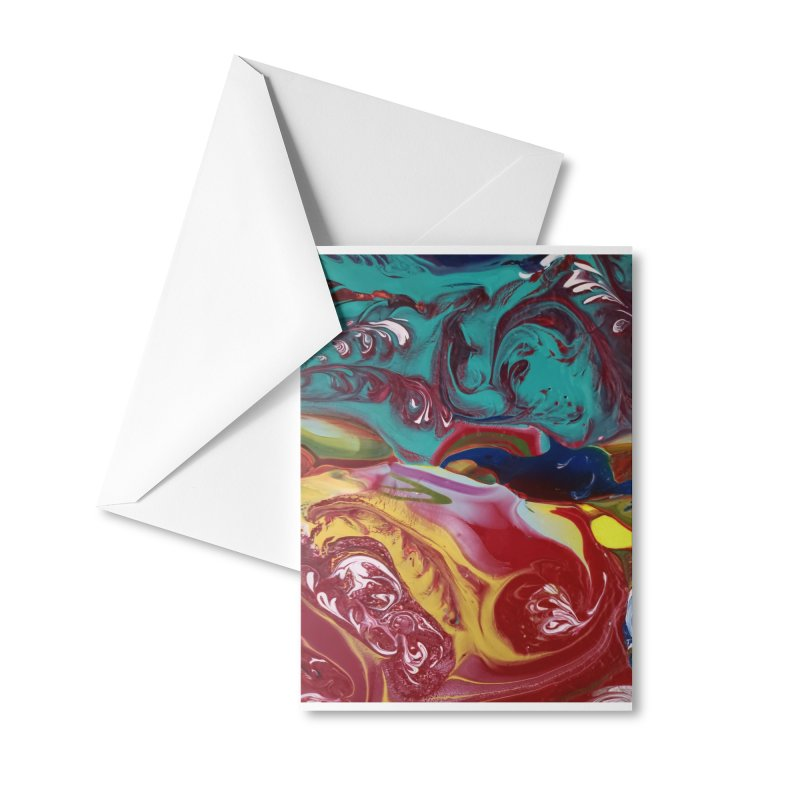 The Color of Storm Accessories Greeting Card by AlmaT's Artist Shop