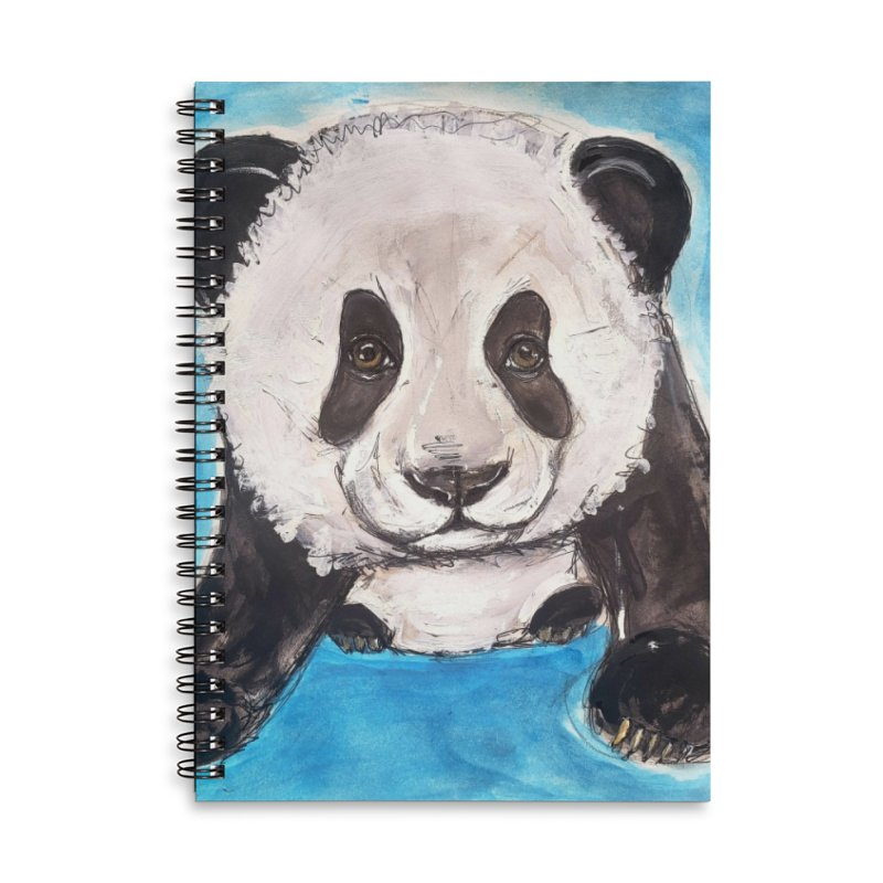 Baby Panda Accessories Notebook by AlmaT's Artist Shop