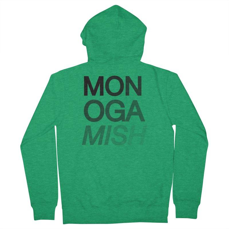 monogamish too Men's Zip-Up Hoody by AltStyle's Artist Shop