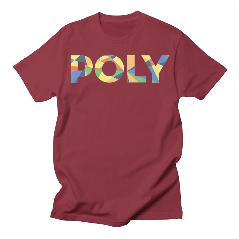 POLY PRIDE Men's T-shirt by AltStyle's Artist Shop