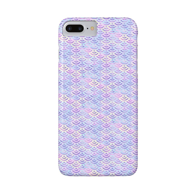 Purple Rainbow Mermaid Pattern (Pastel)  Accessories Phone Case by Alvestegui's Artist Shop