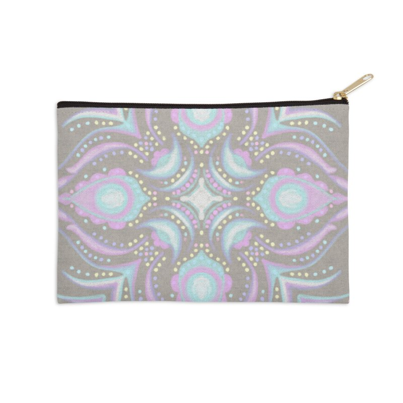 Street Mandala (Pastel)  Accessories Zip Pouch by Alvestegui's Artist Shop