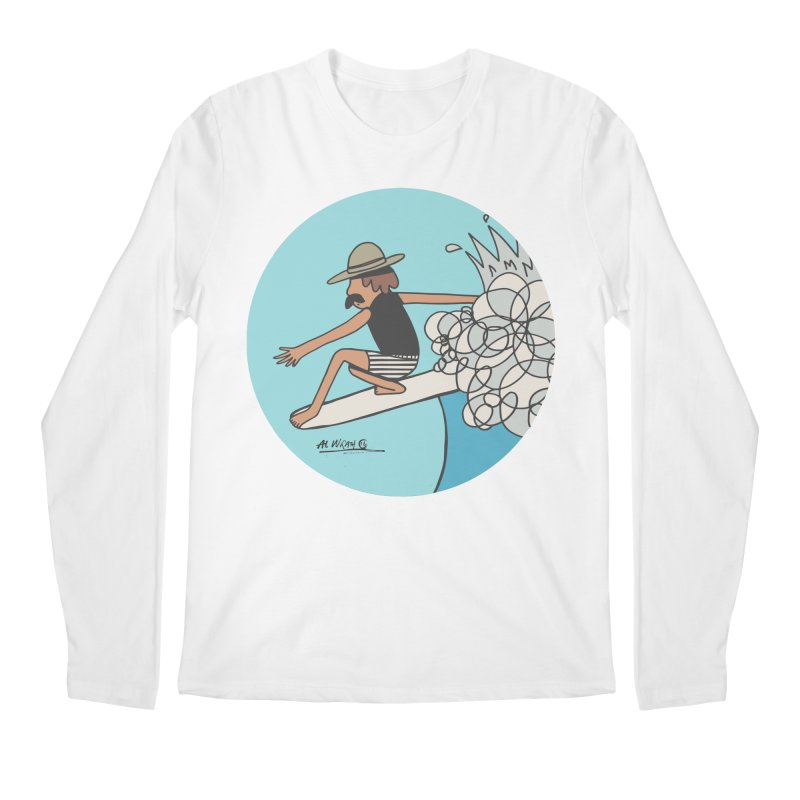 Hang Fivies Men's Regular Longsleeve T-Shirt by Alwrath's Artist Shop