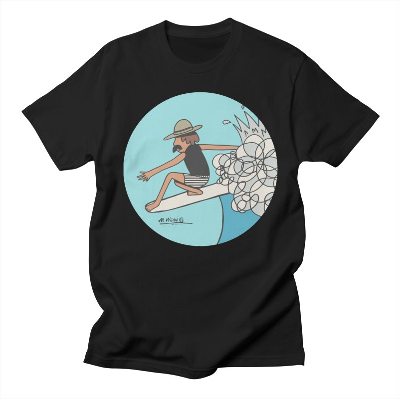 Hang Fivies Women's Regular Unisex T-Shirt by Alwrath's Artist Shop