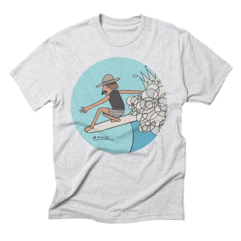 Hang Fivies Men's Triblend T-Shirt by Alwrath's Artist Shop