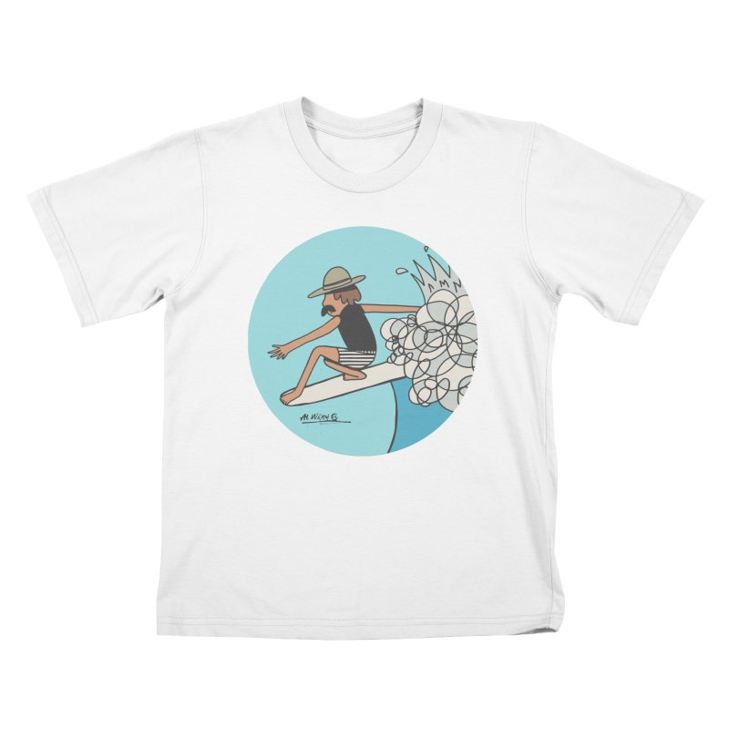 Hang Fivies Kids T-Shirt by Alwrath's Artist Shop