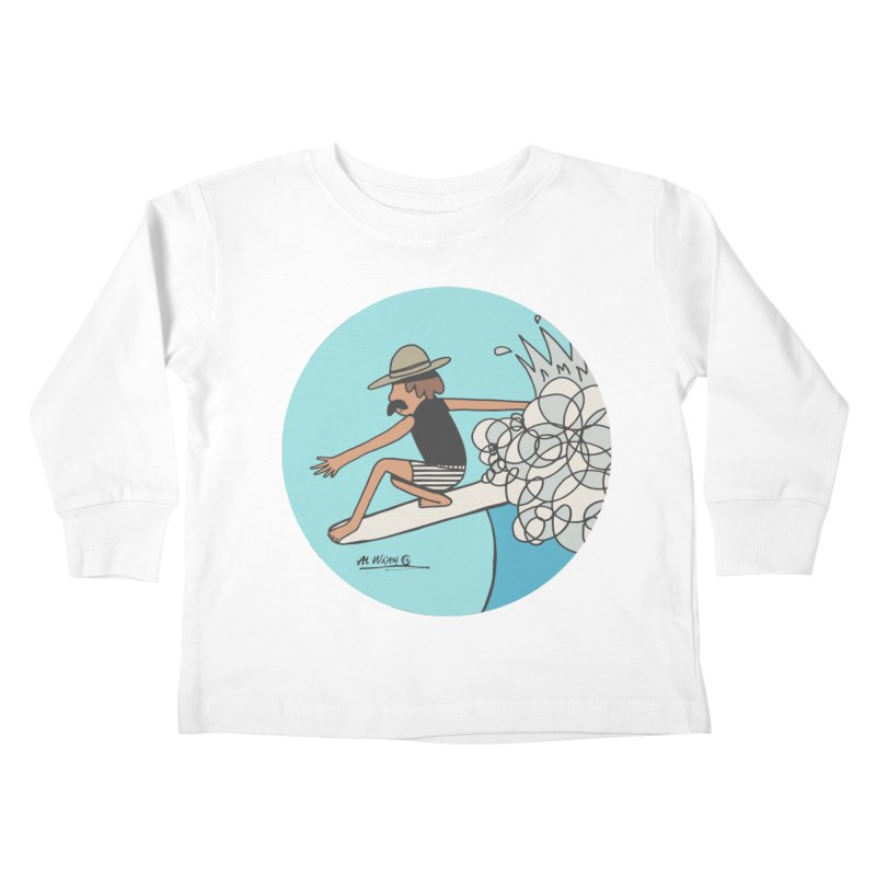 Hang Fivies Kids Toddler Longsleeve T-Shirt by Alwrath's Artist Shop