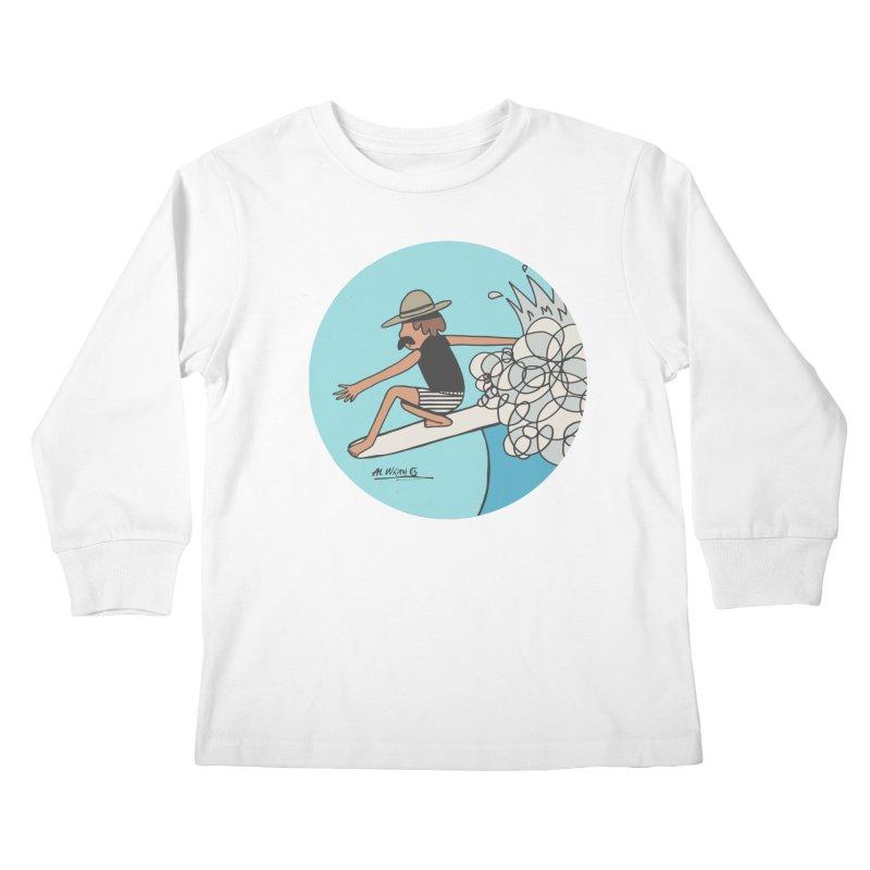 Hang Fivies Kids Longsleeve T-Shirt by Alwrath's Artist Shop