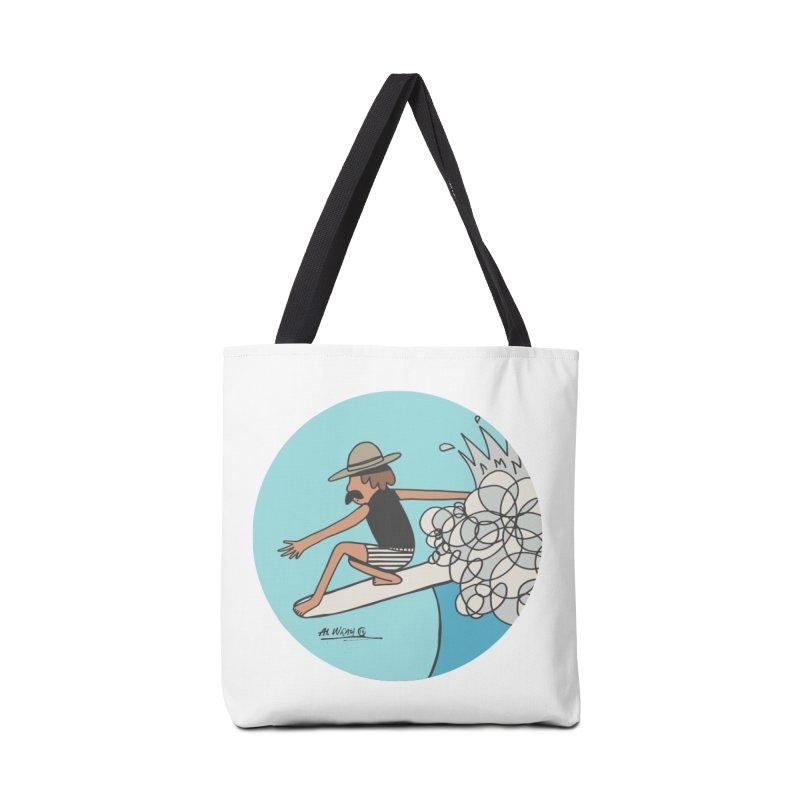 Hang Fivies Accessories Bag by Alwrath's Artist Shop