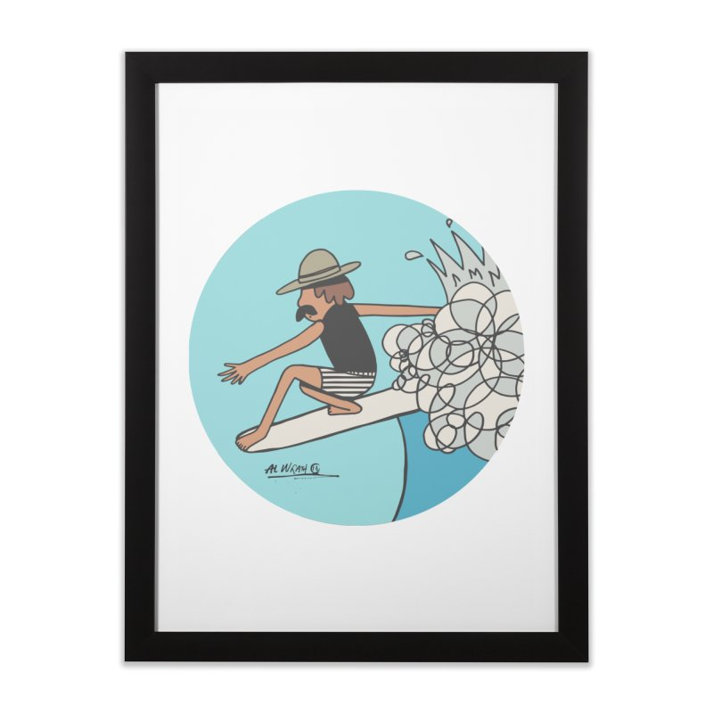 Hang Fivies Home Framed Fine Art Print by Alwrath's Artist Shop