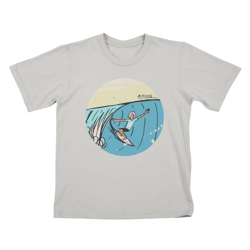 JJF Billabong Pro Tahiti Kids T-Shirt by Alwrath's Artist Shop