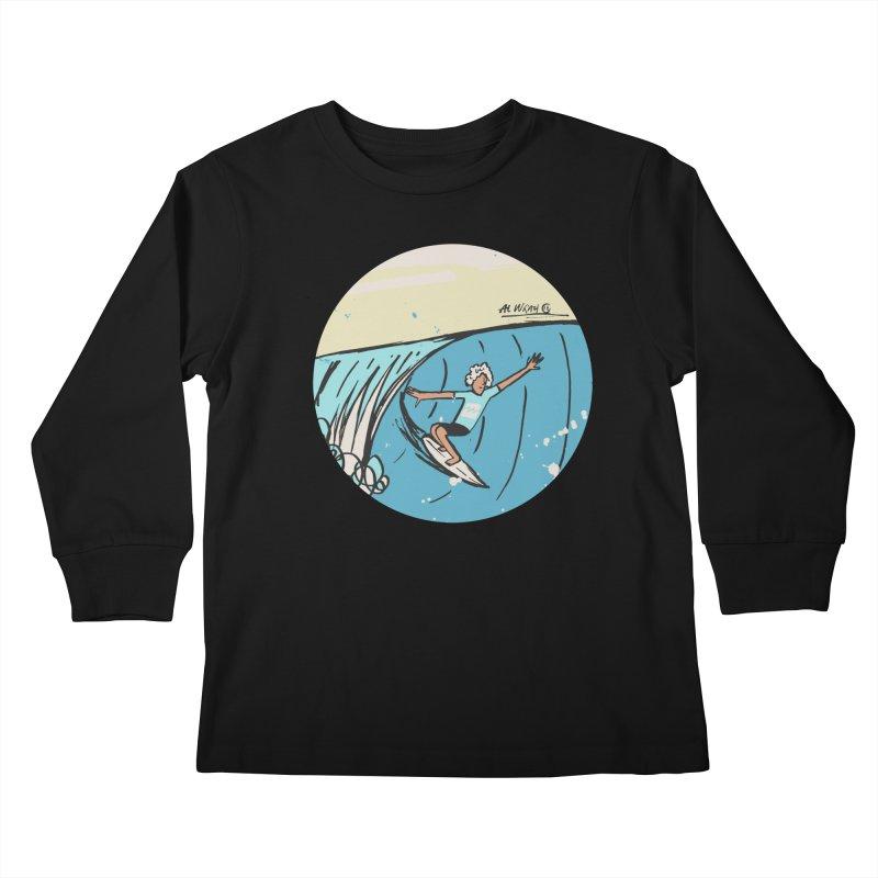 JJF Billabong Pro Tahiti Kids Longsleeve T-Shirt by Alwrath's Artist Shop