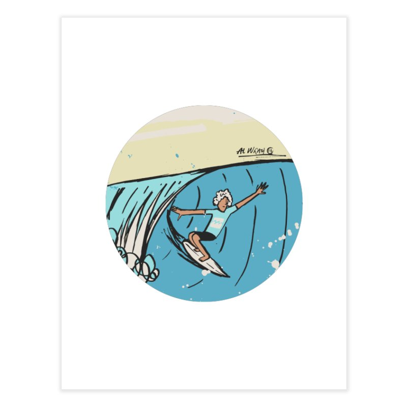 JJF Billabong Pro Tahiti Home Fine Art Print by Alwrath's Artist Shop