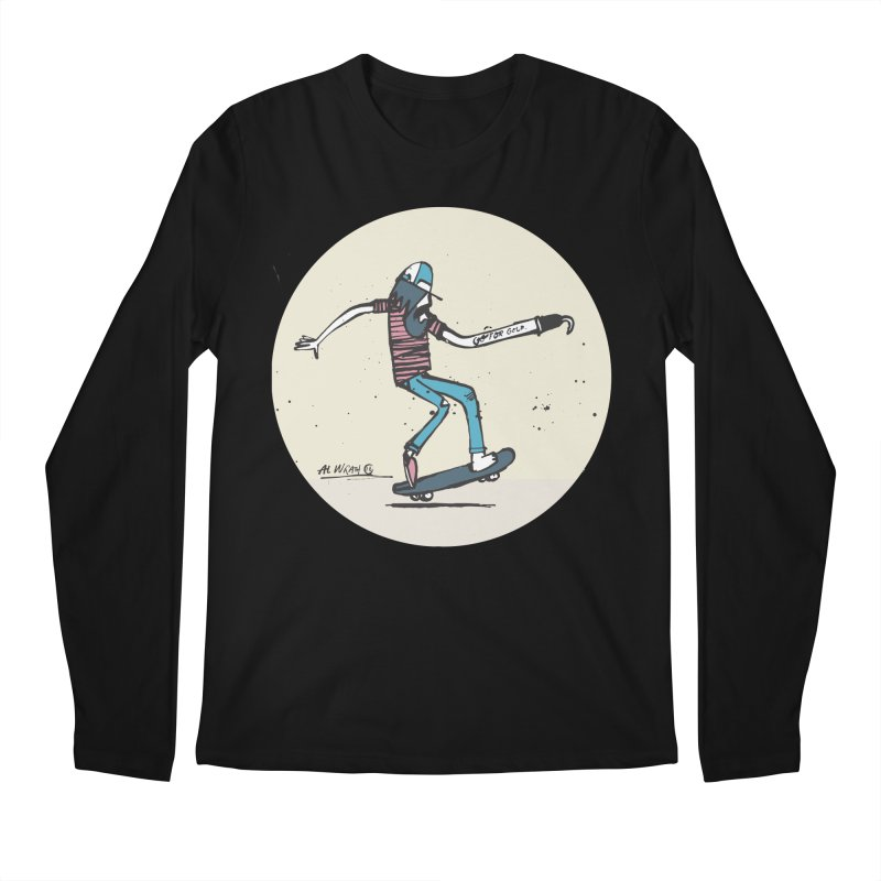 Hooky Men's Longsleeve T-Shirt by Alwrath's Artist Shop