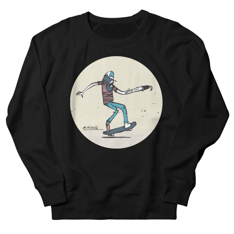 Hooky Men's Sweatshirt by Alwrath's Artist Shop