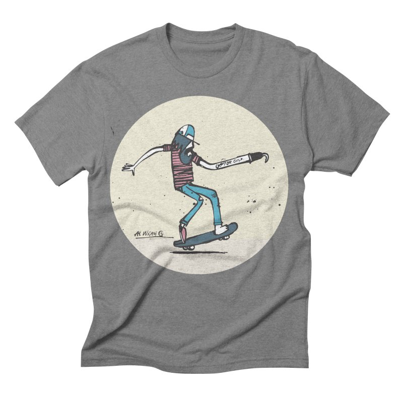 Hooky Men's Triblend T-shirt by Alwrath's Artist Shop