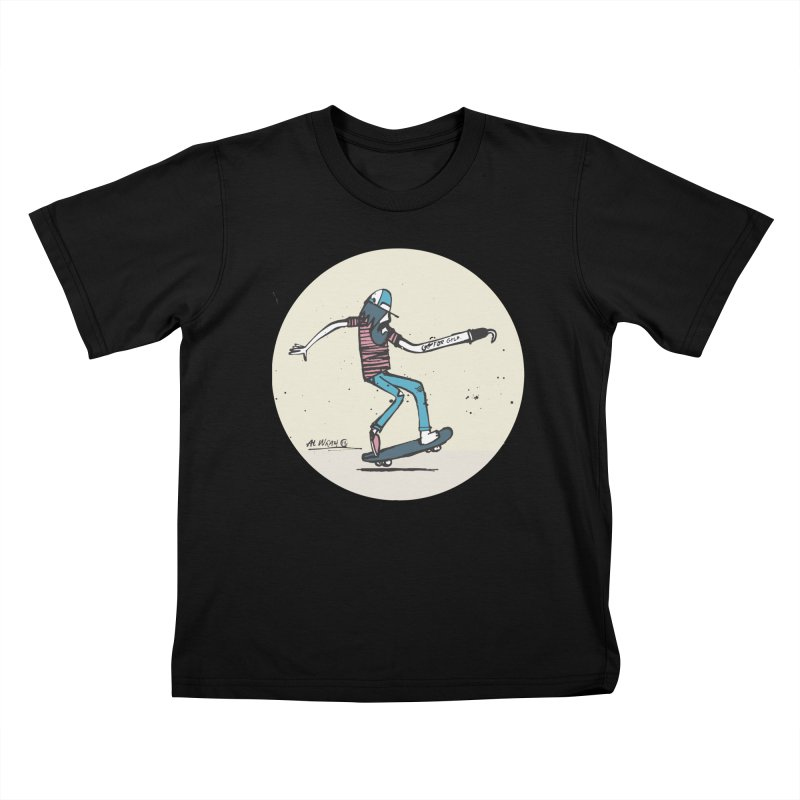 Hooky Kids T-Shirt by Alwrath's Artist Shop