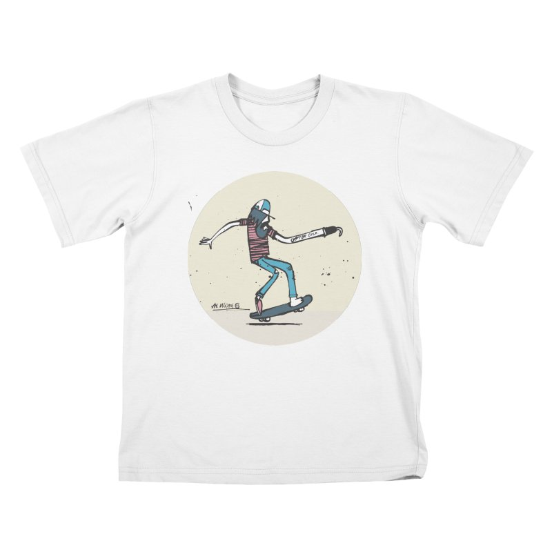 Hooky Kids T-Shirt by Alwrath's Artist Shop