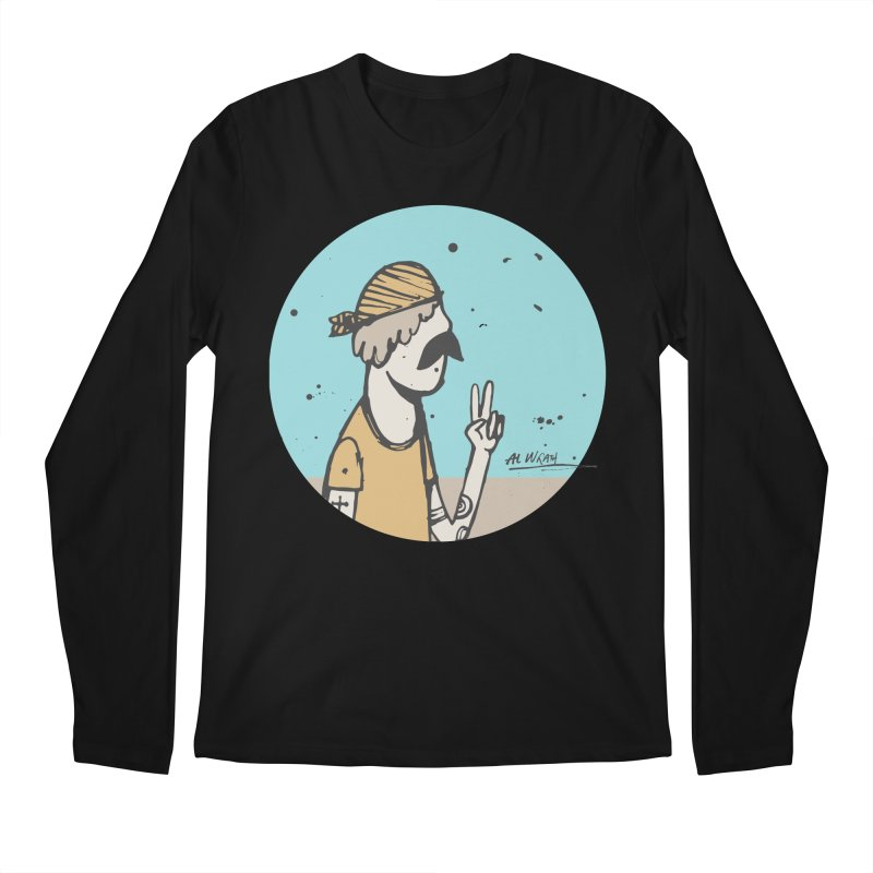 Mikey Men's Regular Longsleeve T-Shirt by Alwrath's Artist Shop