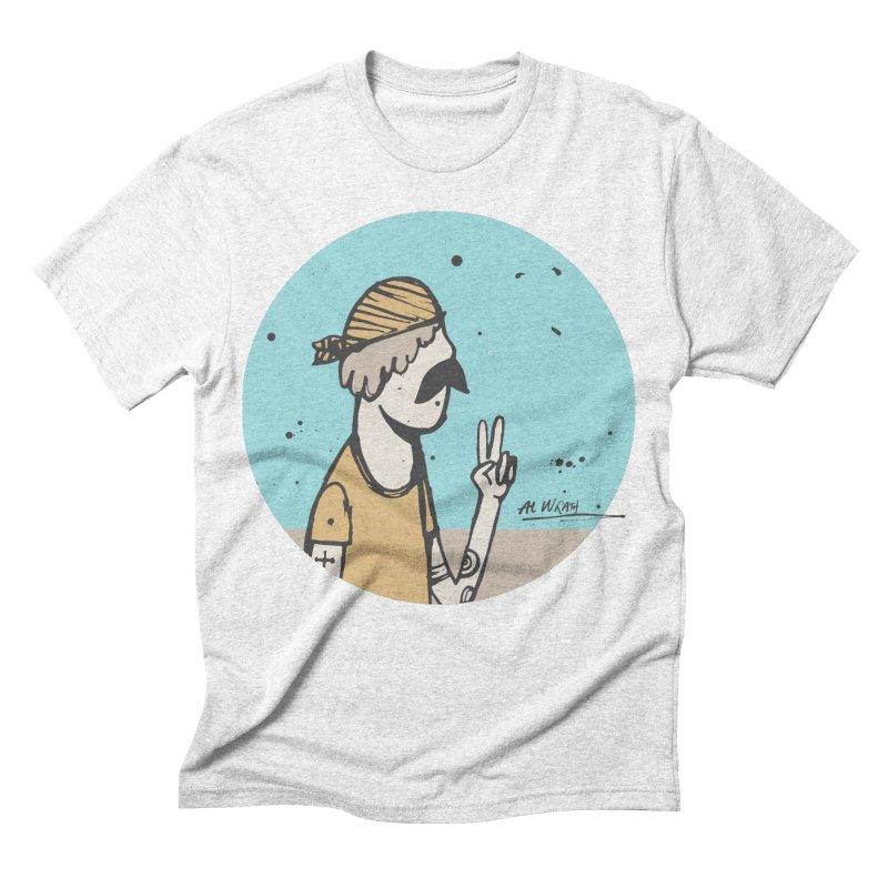 Mikey Men's Triblend T-shirt by Alwrath's Artist Shop